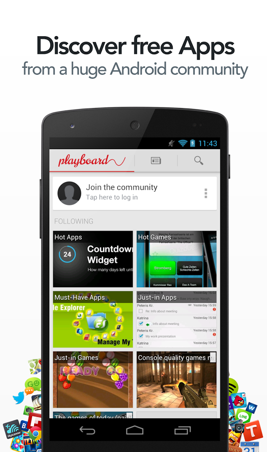 Playboard - discover free apps