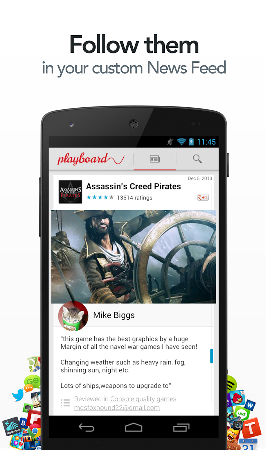 Playboard - newsfeed free apps