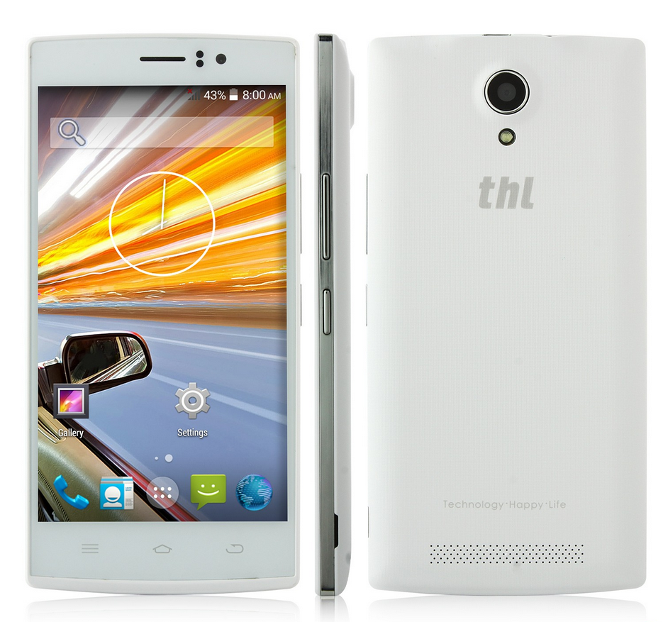 THL L969 5 pouces 4G FDD-LTE MT6582 - Chinandroid