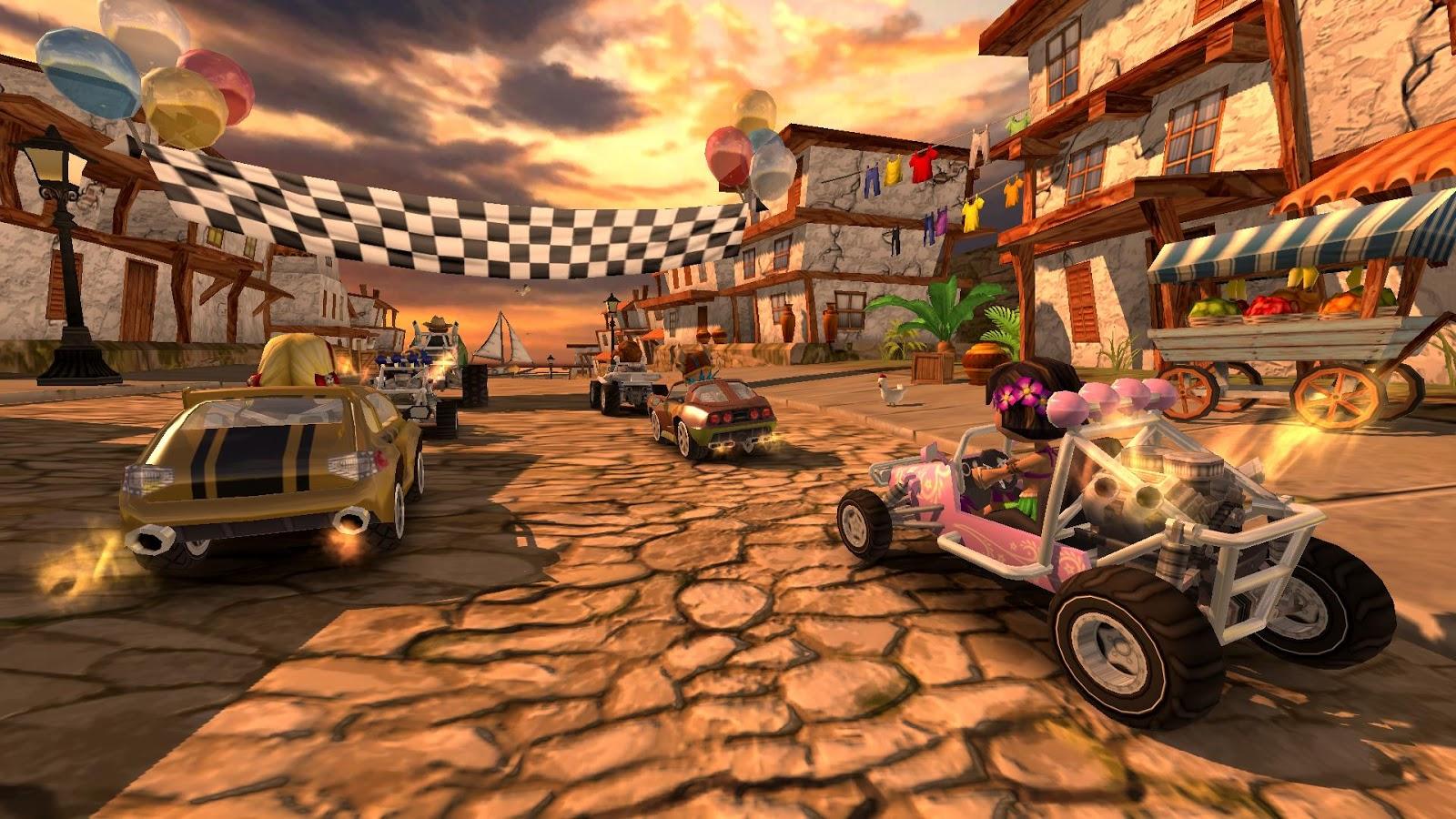 Beach Buggy Racing-course