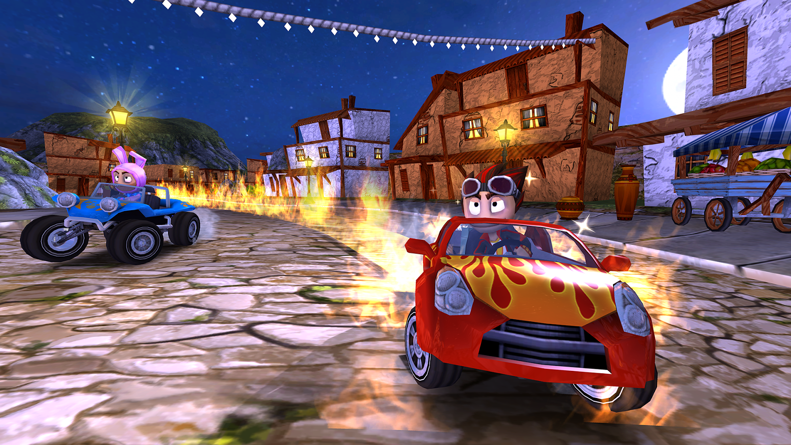 Beach Buggy Racing-burn