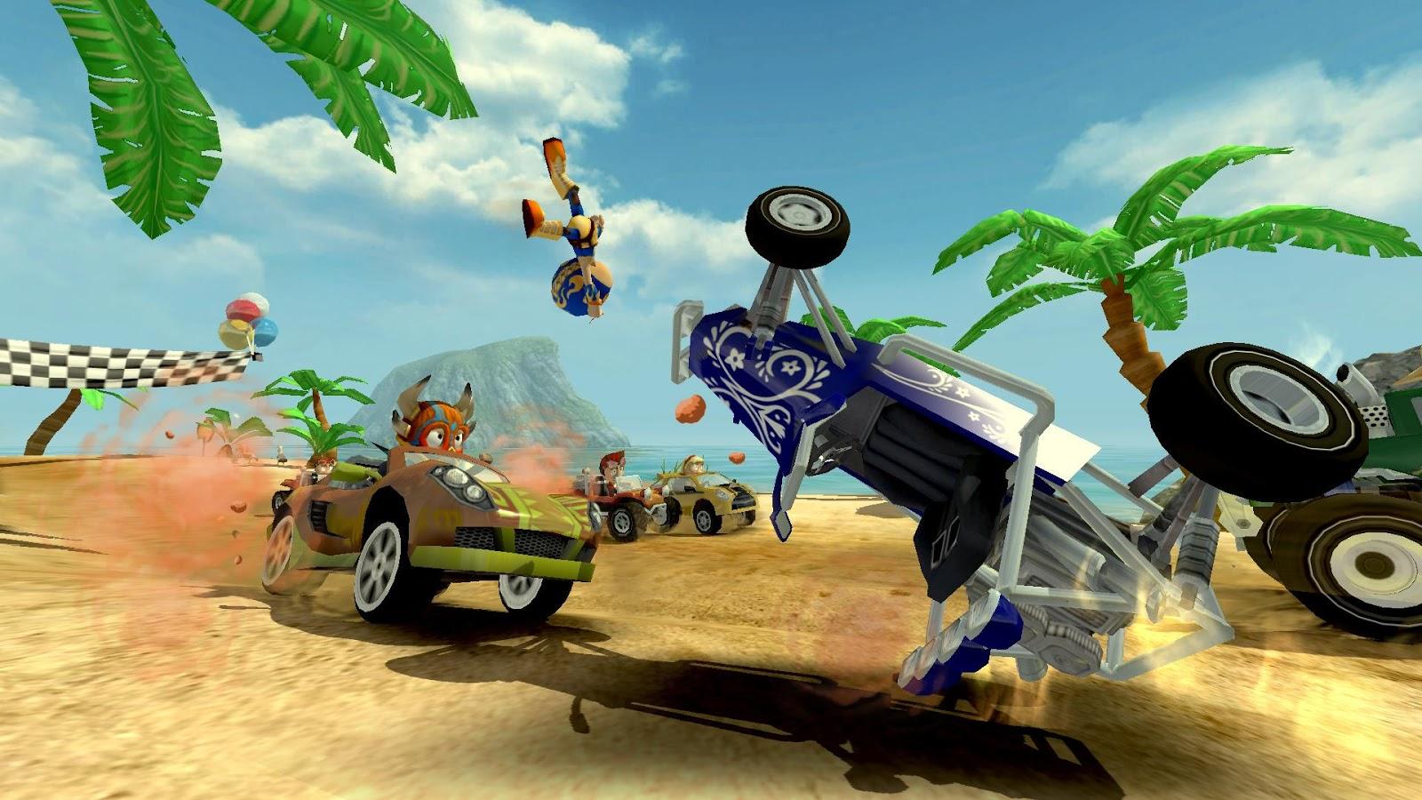 Beach Buggy Racing-crash fun