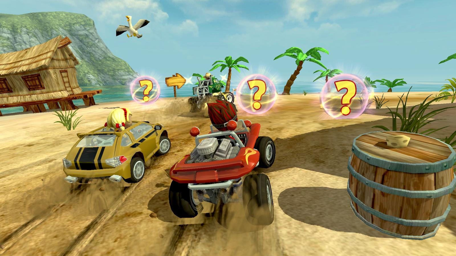 Beach Buggy Racing-items