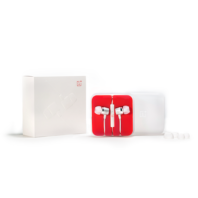 Ecouteurs Silver Bullet OnePlus - package