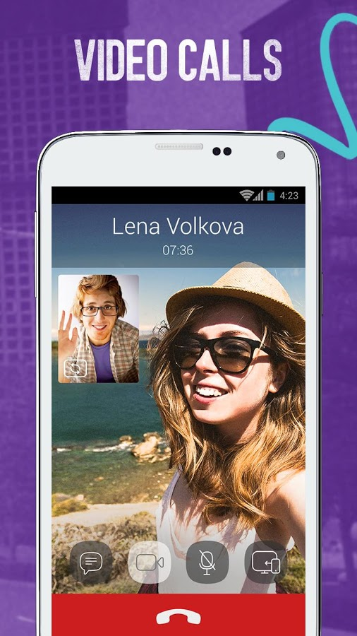Viber - smartphone video call