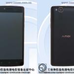 Amoi M1 5″ HD MT6582 batterie 5200mAh
