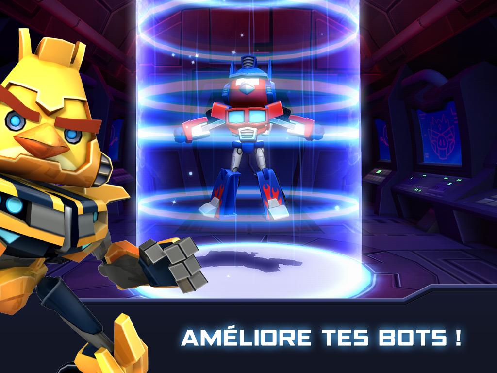 Angry Birds Transformers - Améliorez
