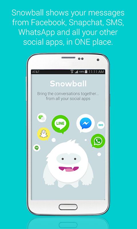 Snowball Beta - Regroupez vos messageries