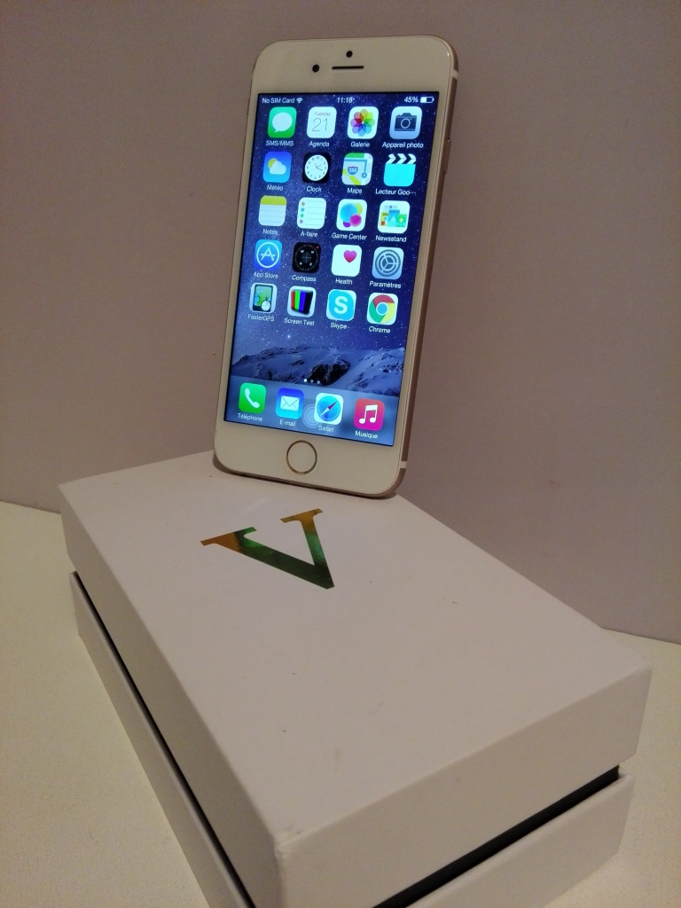 test v phone i6 le clone iphone 6 chinandroid. Black Bedroom Furniture Sets. Home Design Ideas