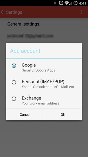 Gmail 5.0 - Multi Comptes
