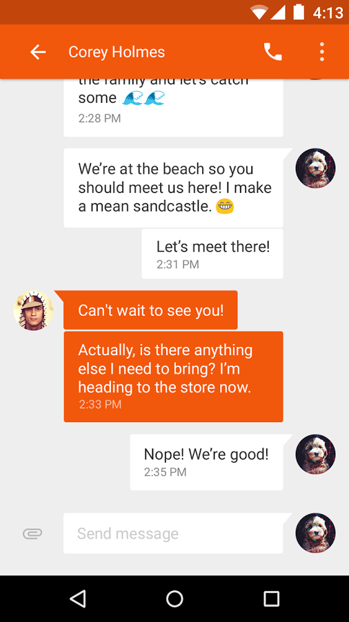 Messenger - sms