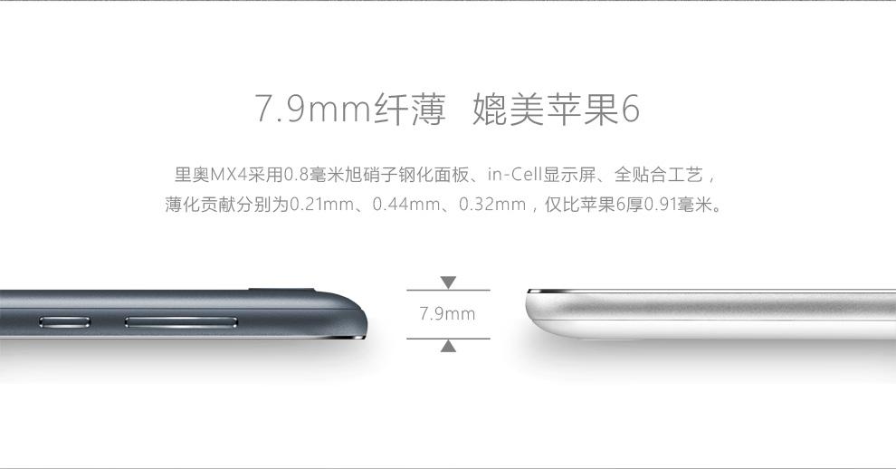Neo MX4 - épaisseur de 7.9mm