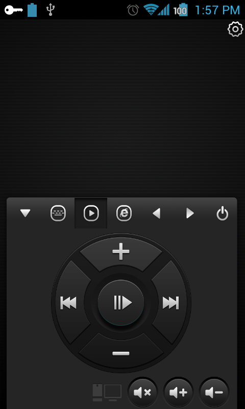 WiFi Mouse - remote player