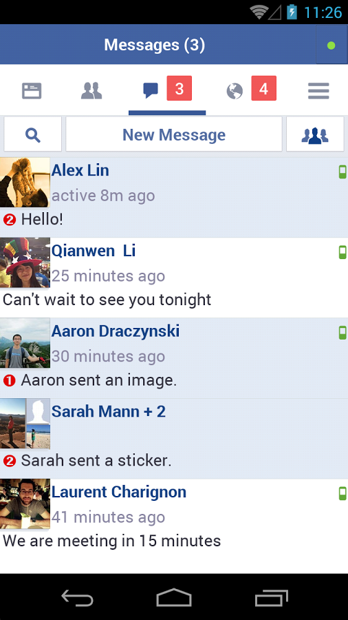 Facebook Lite - Messages
