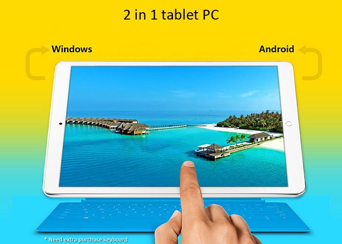 Onda V919 3G Air - Android 4.4.4 - Windows  8.1