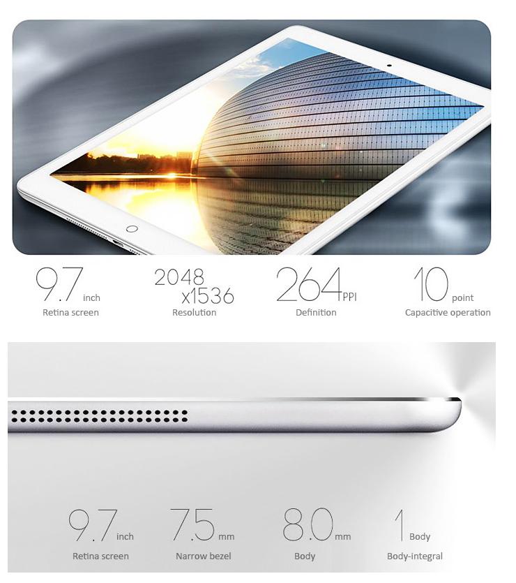Onda V919 3G Air - dimensions