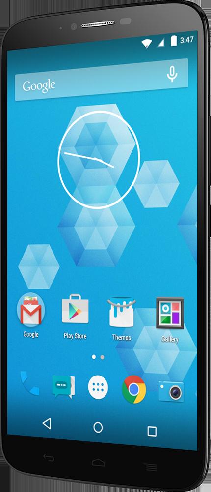Alcatel One Touch Hero 2+ - de face