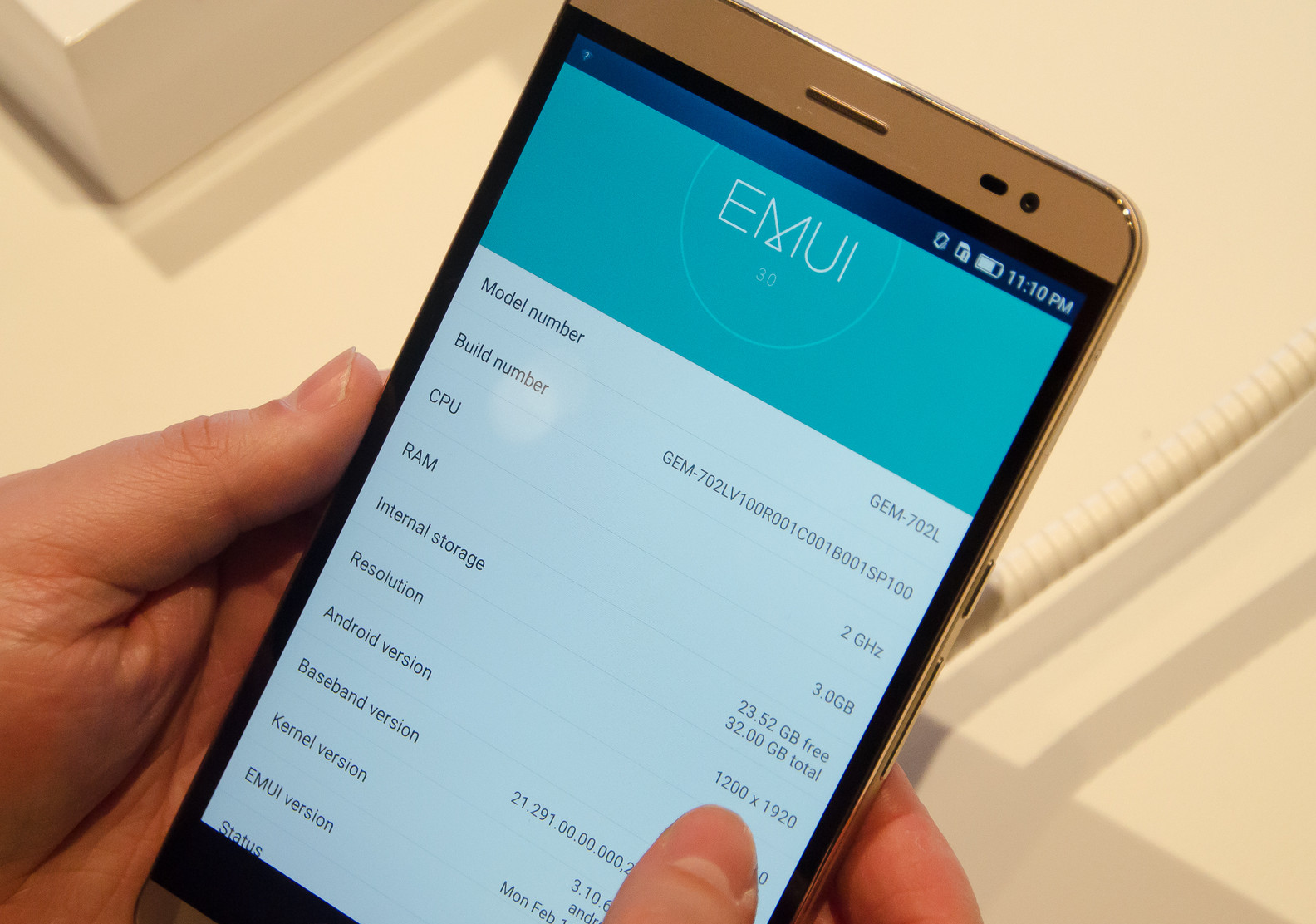 Huawei MediaPad X2 - EMUI 3.0