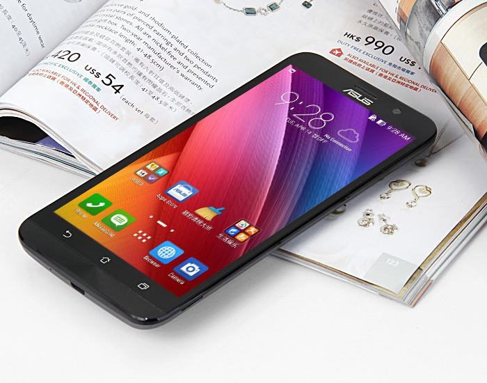 Promo Asus Zenphone2 Gearbest - de face