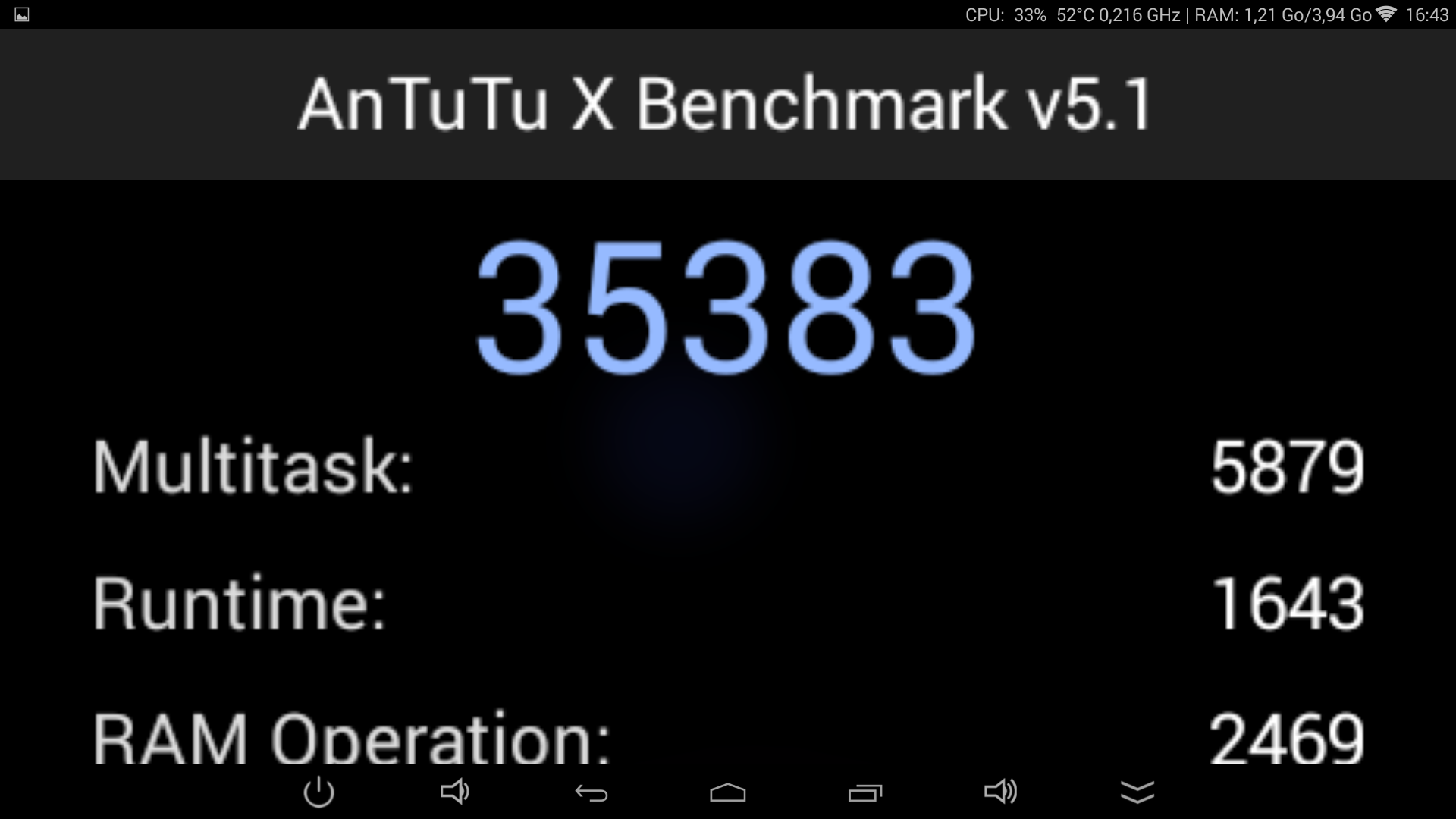 UGOOS UT3S - Antutu X 1.8ghz