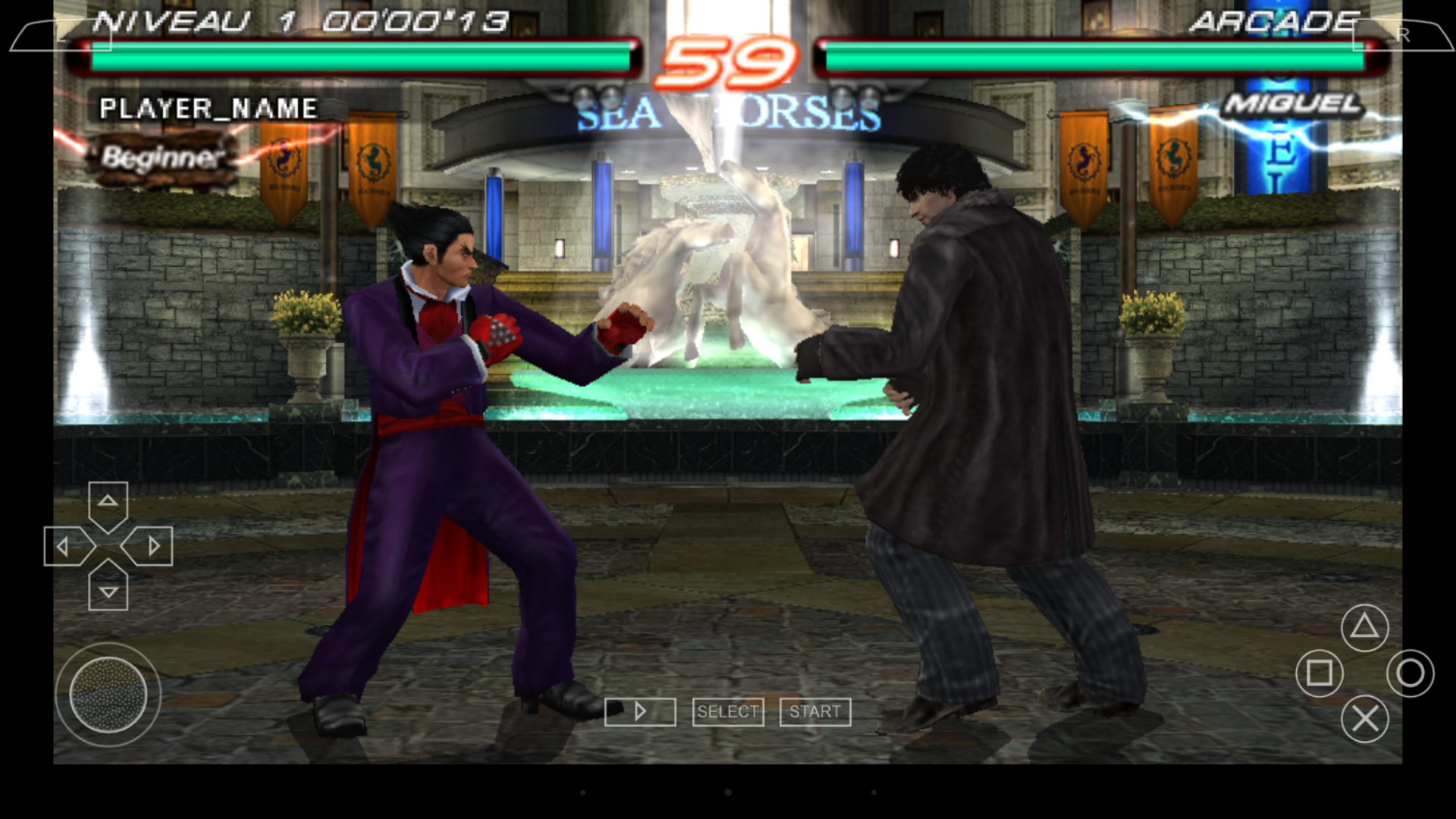 UGOOS UT3S - tekken6 emulateur psp in game