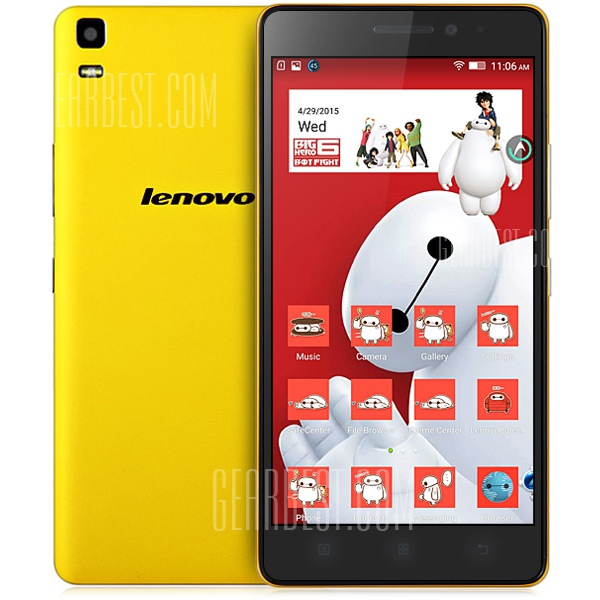 Lenovo K3 Note - de face et dos