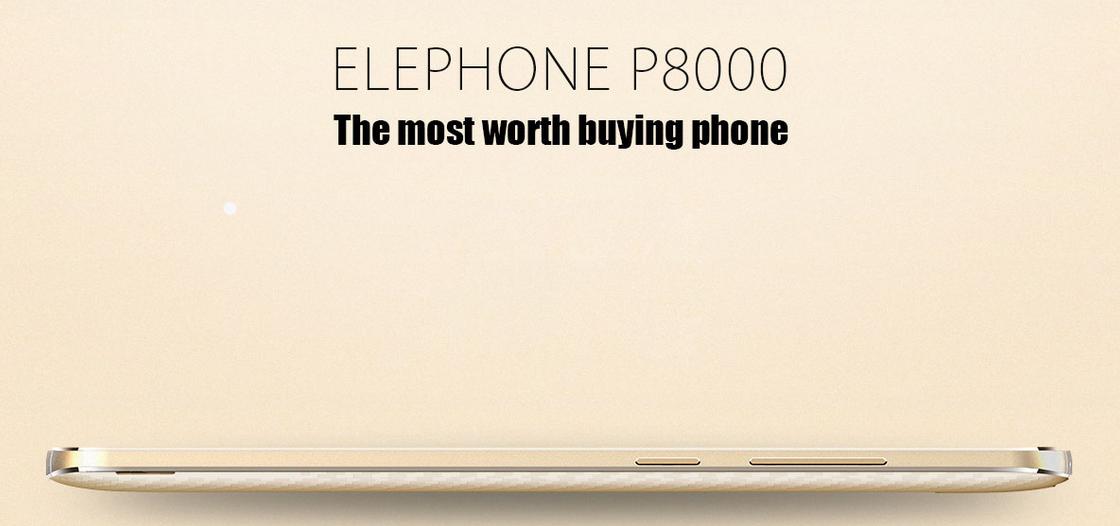 Test Elephone P8000