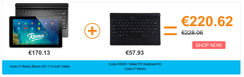 Cube I7 Remix OS
