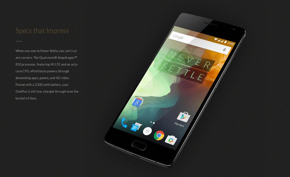 Précommande OnePlus 2