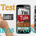 Test innos D6000 Dual batterie 6000mAh 4G