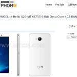 Android 6 sous Helio P10 : Elephone p9000