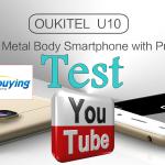 Test Oukitel U10 pour everbuying