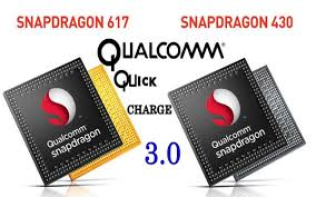 Qualcomm Snap 617 et 430