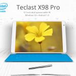 Teclast X98 Pro, la présentation pour gearbest