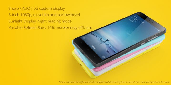 Xiaomi Mi 4c - display