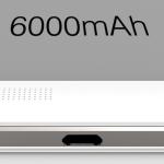 Oukitel K6000: une batterie monstrueuse