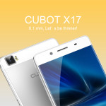 Cubot X17: un design original