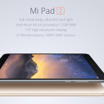 Xiaomi MiPad 2: disponible en trois versions