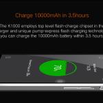 Oukitel K10000: une batterie de 10000mAh
