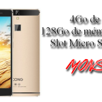 QCong Metal 4Go Ram 128Go Rom 4G 5.5″ Full HD