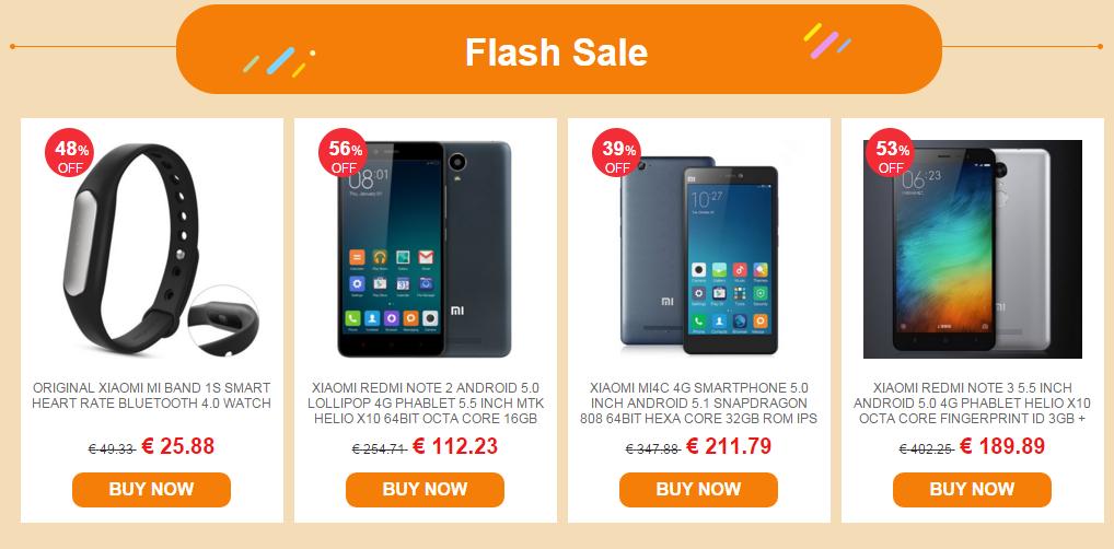 Vente produits Xiaomi