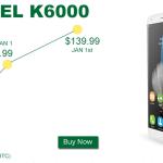 Oukitel K6000 10 pièces à 99.99$ gearbest