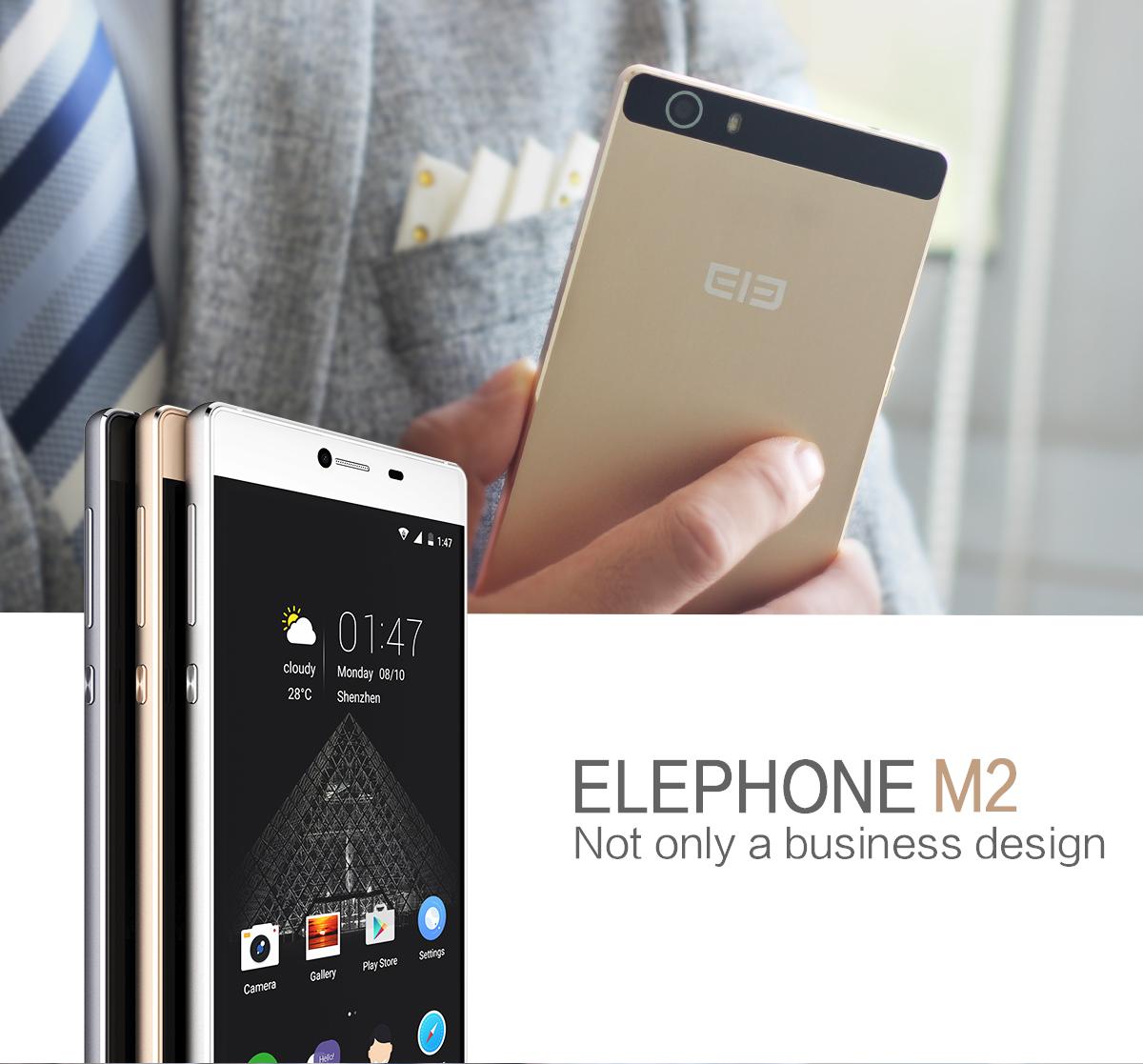 Test Elephone M2