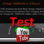 Test Oukitel K10000 pour gearbest