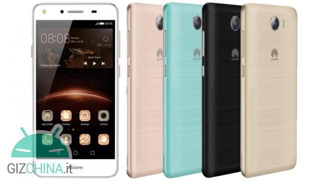 Huawei Y5 II à la une