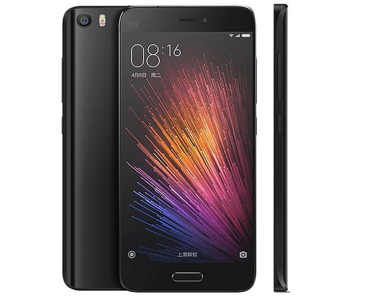 Xiaomi Mi5 de face
