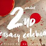 Deuxième anniversaire Gearbest: prix et jeux