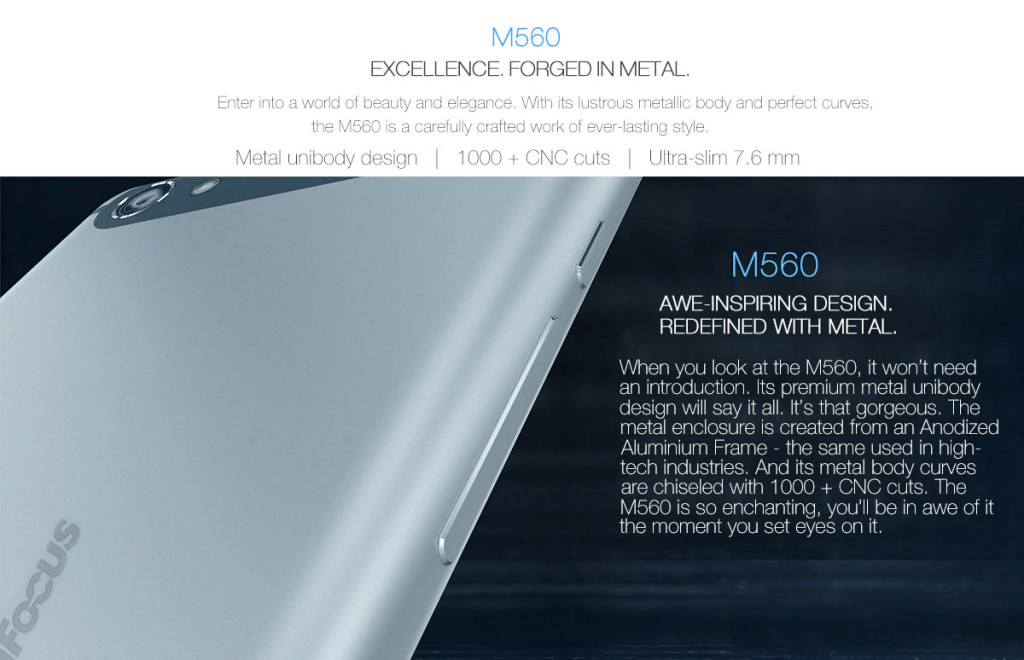 Infocus M560 - chassis