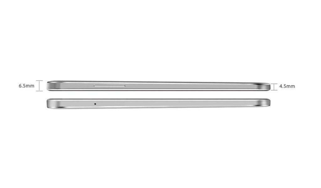 Cubot S9 - dimension