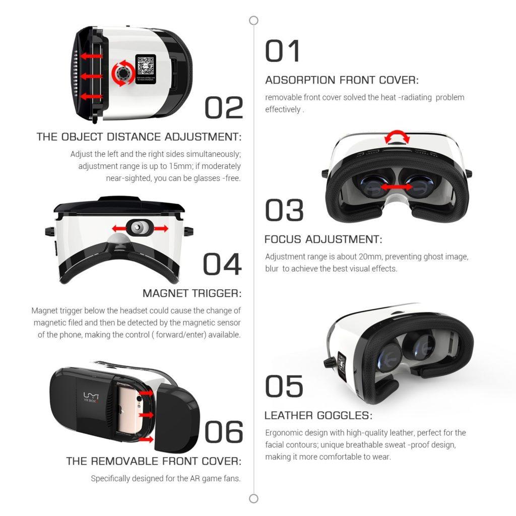UMI VR BOX 3 - spec